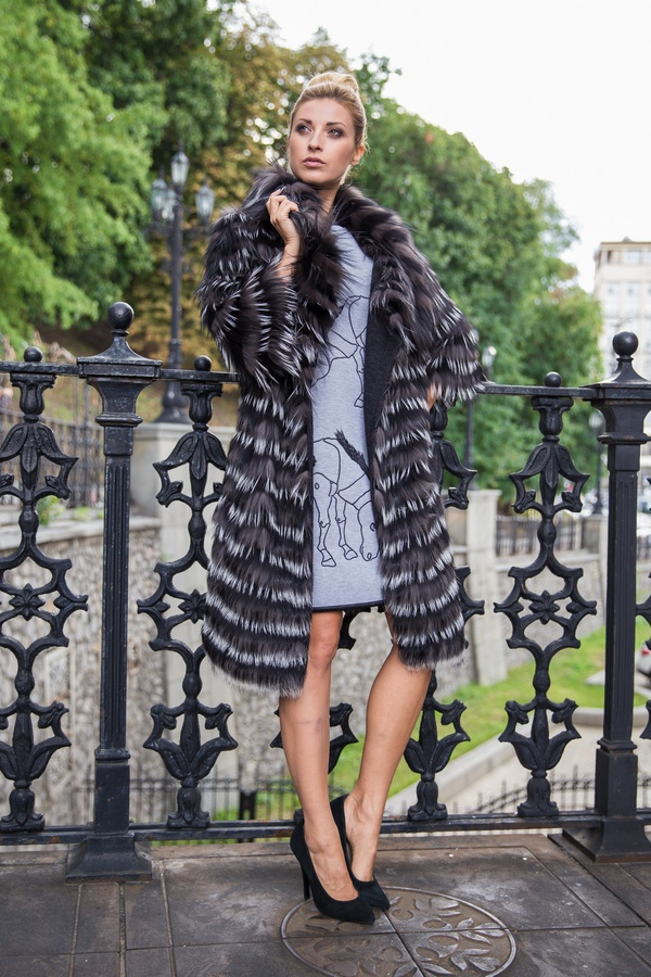Пальто на меху first lady киев